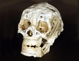 Brian Dettmer: Cassette Tape Skeletons